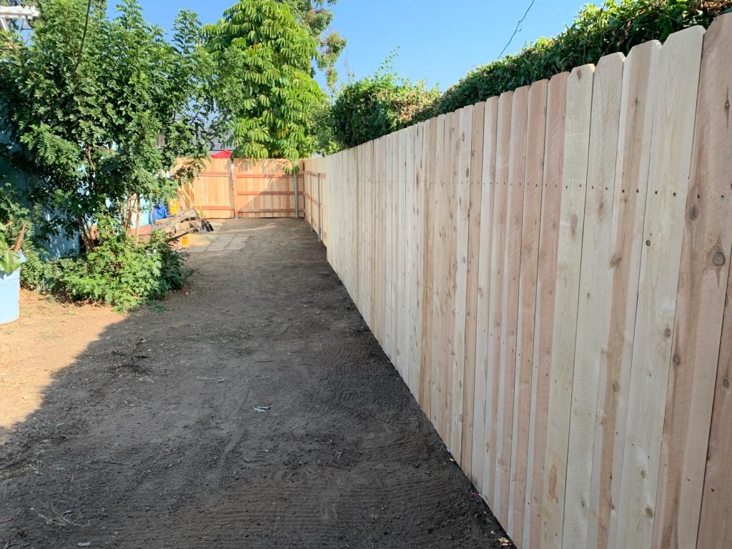 02 - After - side fence